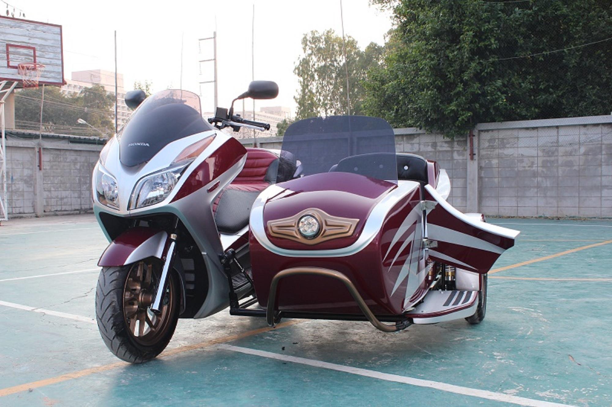 Honda Forza Sidecar – Ozimoto – Trikes and Sidecars
